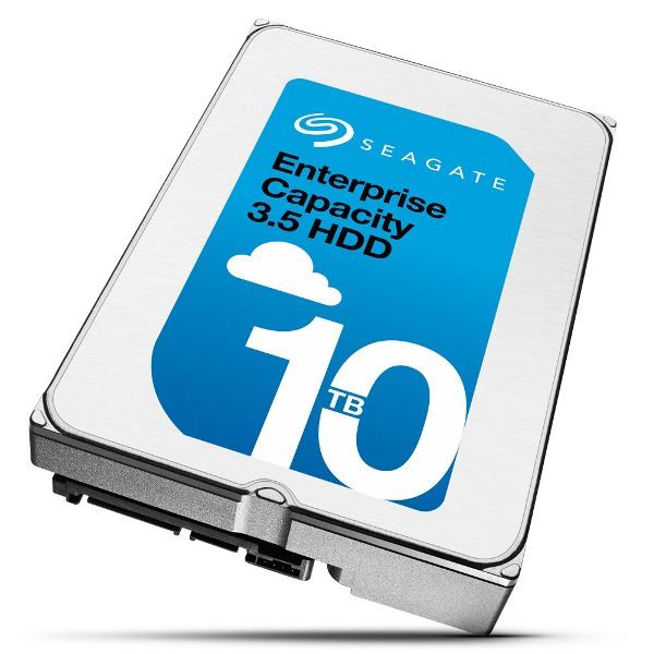 В ассортименте Seagate появился HDD объёмом 10 ТБ
