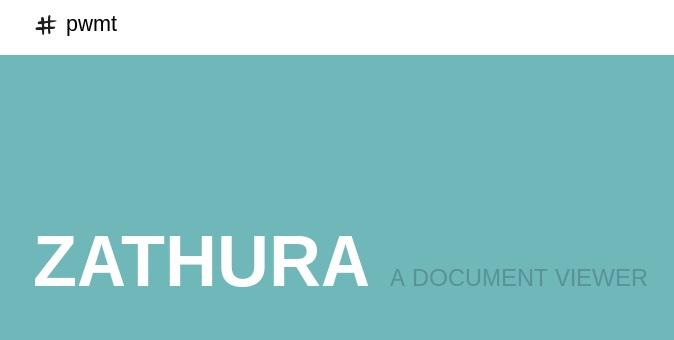 Zathura, просмоторщик документов - 1