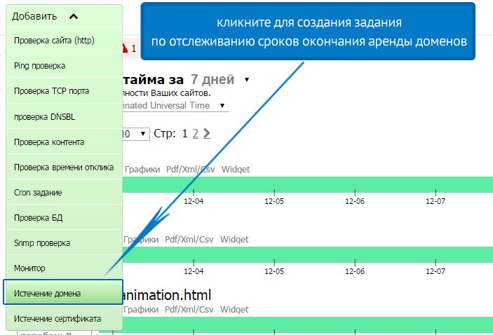 Мониторинг срока истечения SSL сертификата и домена - 2