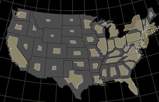 Тематическая картография: одномерные карты - 12