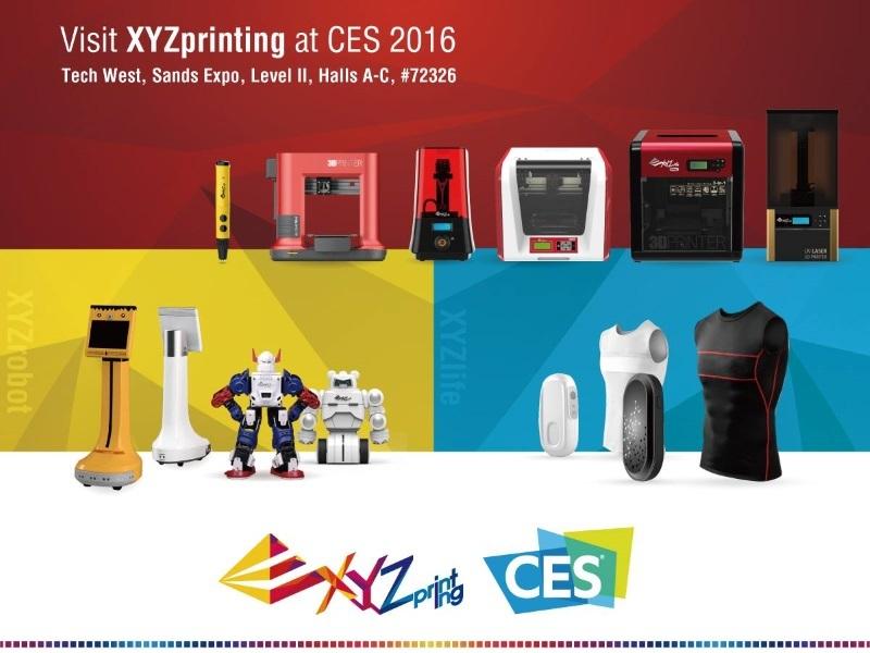 Выставка CES 2016 в Лас-Вегасе. Обзор новинок 3D-индустрии от Top 3D Shop - 3