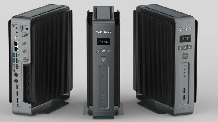 ПК Compulab Airtop предлагает полностью пассивное охлаждение