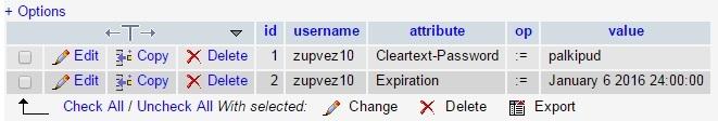 HotSpot с помощью Cisco WLC5508, FreeRadius, MySQL и Easyhotspot - 15