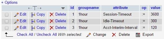 HotSpot с помощью Cisco WLC5508, FreeRadius, MySQL и Easyhotspot - 18