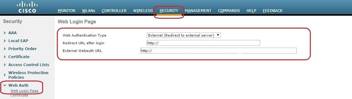 HotSpot с помощью Cisco WLC5508, FreeRadius, MySQL и Easyhotspot - 3