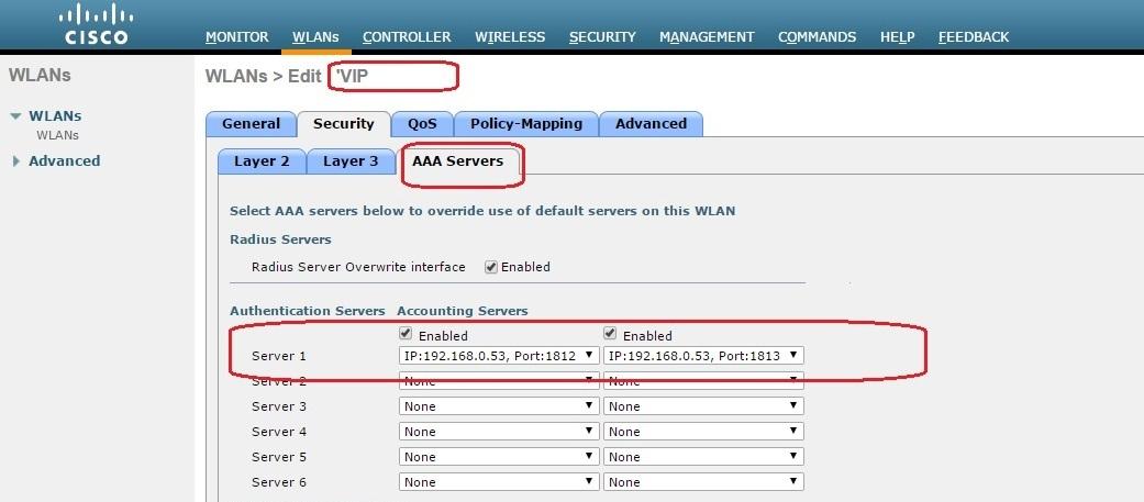 HotSpot с помощью Cisco WLC5508, FreeRadius, MySQL и Easyhotspot - 6