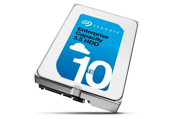 Seagate выпустила гелиевые HDD емкостью в 10 ТБ - 1
