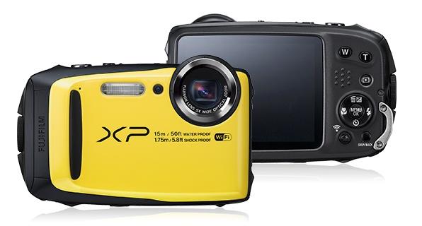 Камера Fujifilm FinePix XP90 не боится воды и падений