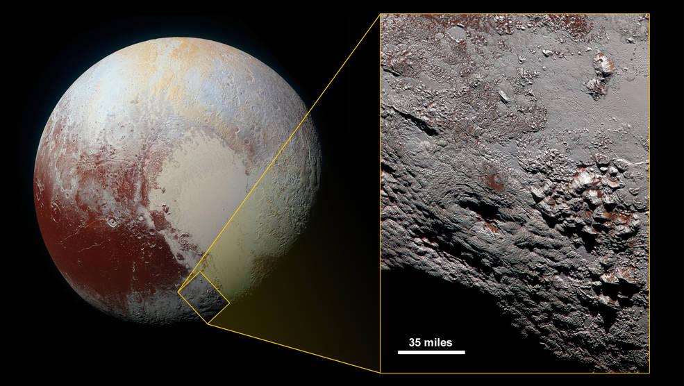 New Horizons прислал снимок вероятного криовулкана на Плутоне - 1