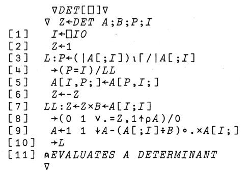 Язык программирования APL - 5