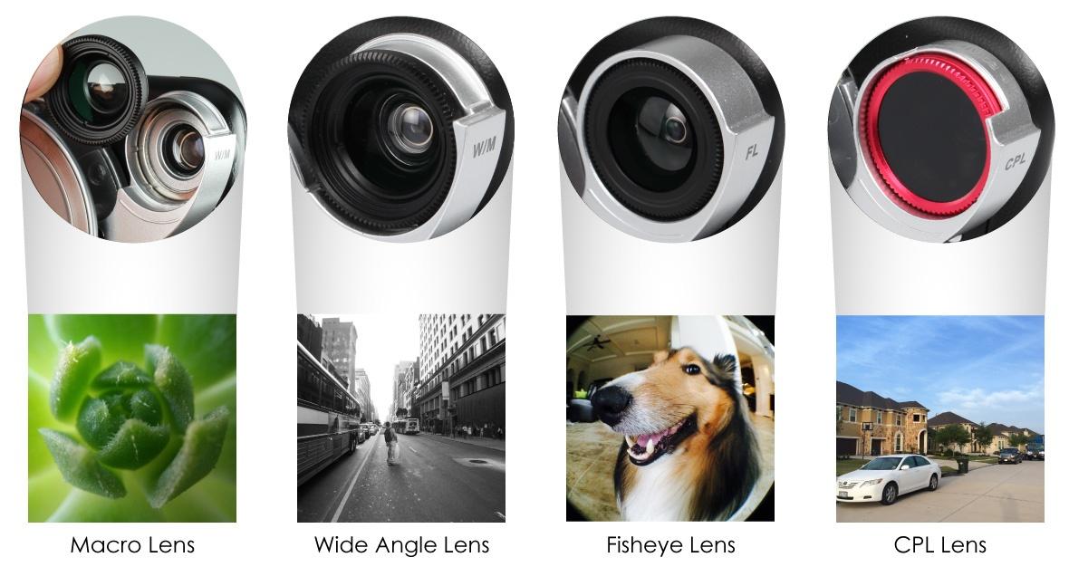 АксCESсуары: чехол для Iphone с набором объективов от ZTYLUS - 2