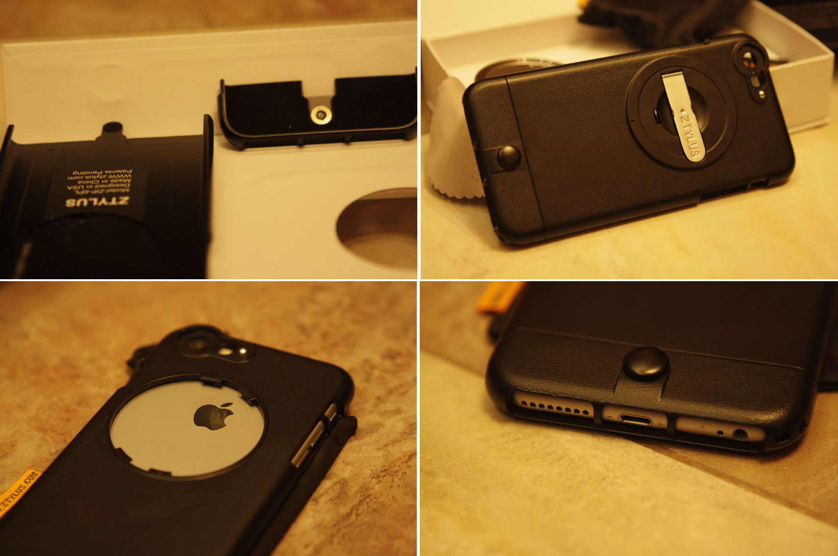 АксCESсуары: чехол для Iphone с набором объективов от ZTYLUS - 5