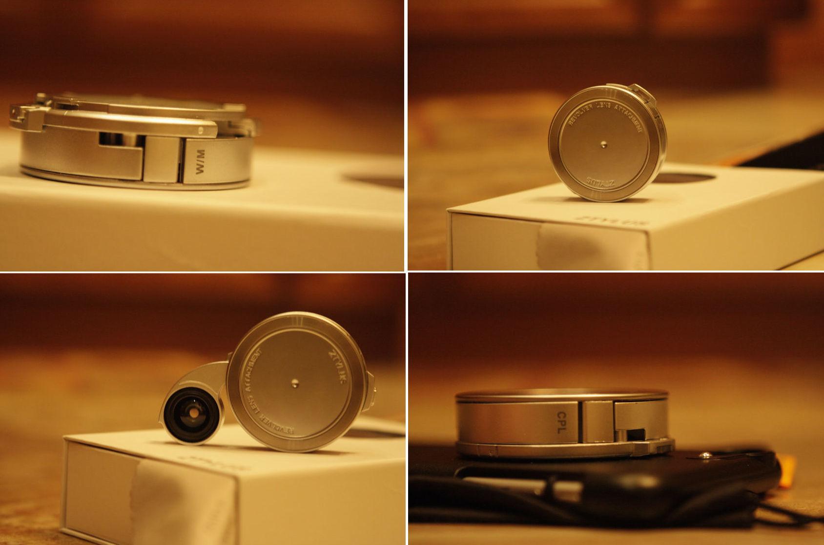АксCESсуары: чехол для Iphone с набором объективов от ZTYLUS - 6
