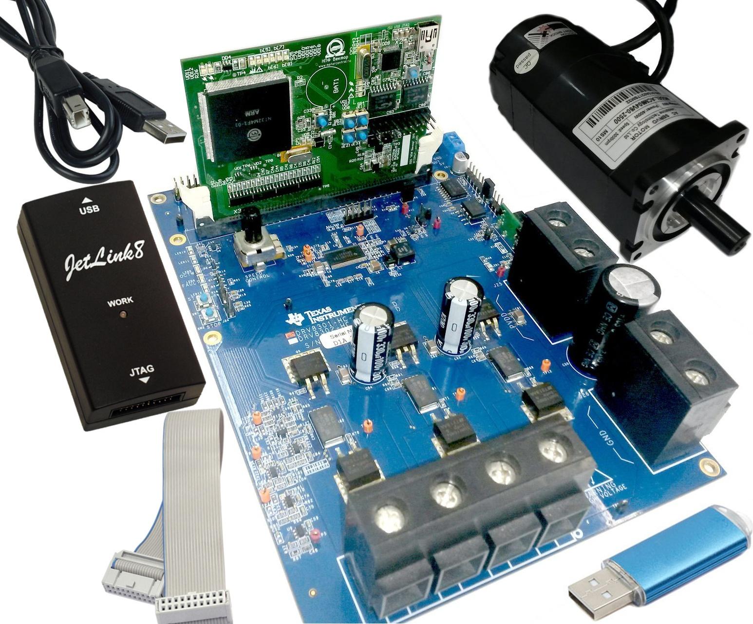 Новый отечественный motor-control микроконтроллер К1921ВК01Т ОАО «НИИЭТ» - 3