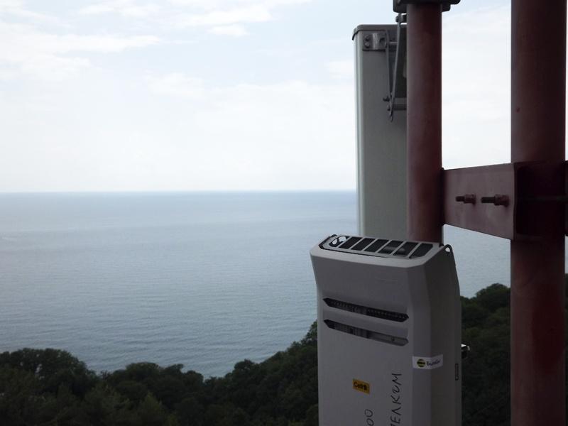 Как мы обеспечивали связь на побережье Черного и Азовского морей Краснодарского края - 19