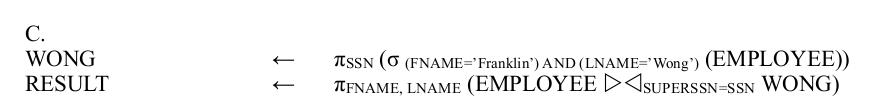 Заметки о SQL и реляционной алгебре - 23