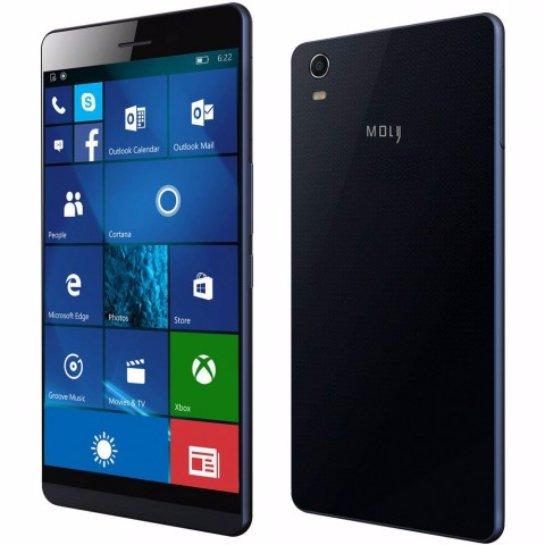 Coship Moly X- самый тонкий смартфон на ОС Windows 10 Mobile