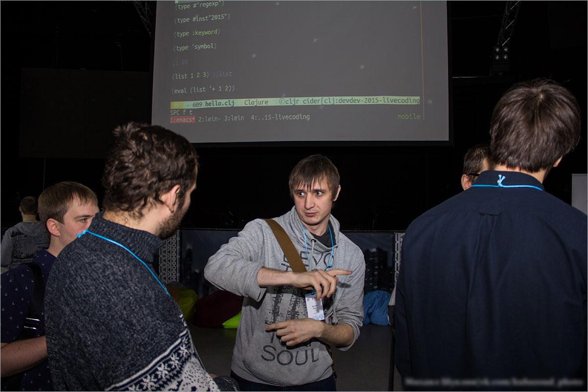 GDG DevFest Красноярск 2015: Фотоотчёт - 14