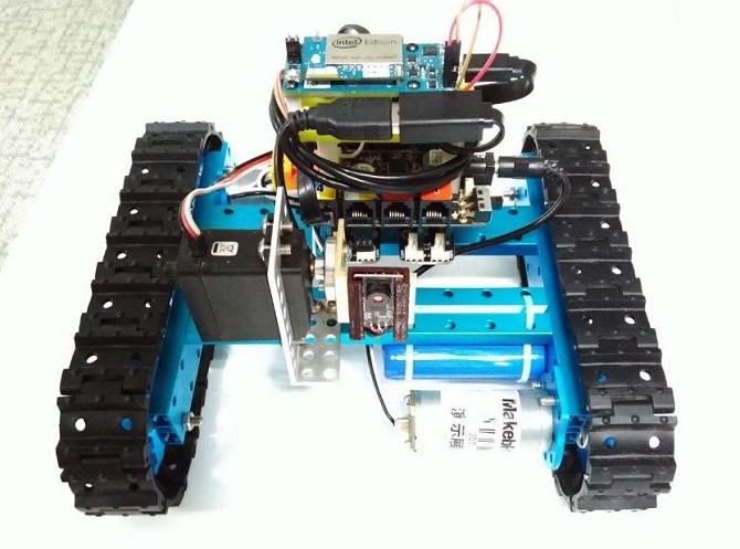 Использование платформы Intel Edison для создания видеоровера - 8