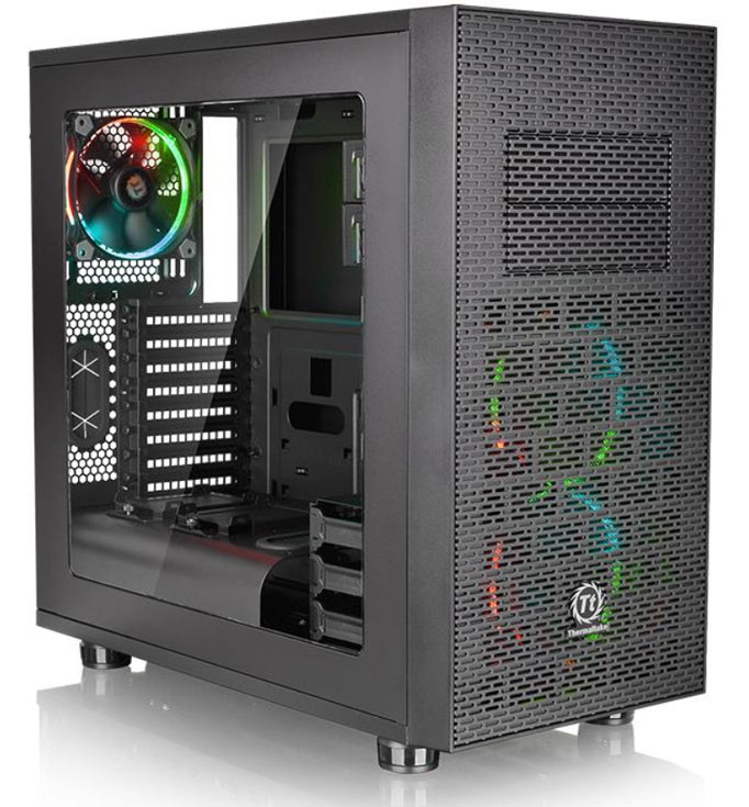 Размеры корпуса Thermaltake Core X31 RGB Edition — 497 x 250 x 511 мм