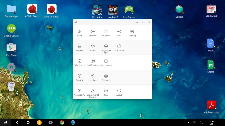 Обзор Remix OS на основе android для персональных компьютеров - 12