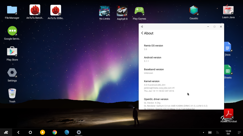 Обзор Remix OS на основе android для персональных компьютеров - 13