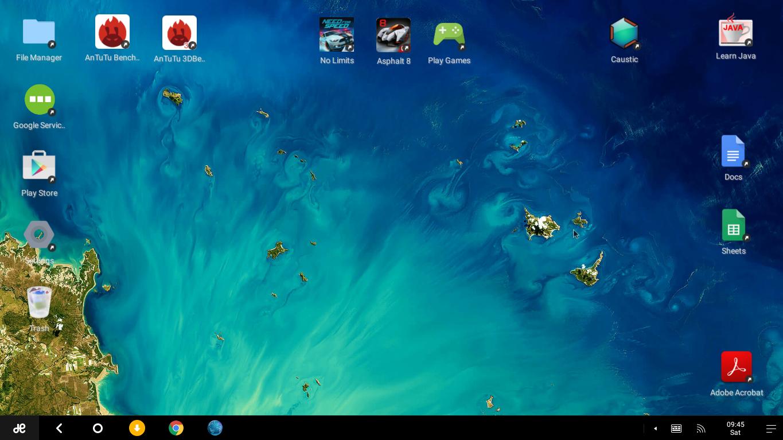 Обзор Remix OS на основе android для персональных компьютеров - 2