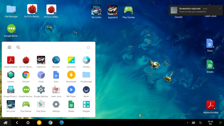 Обзор Remix OS на основе android для персональных компьютеров - 4