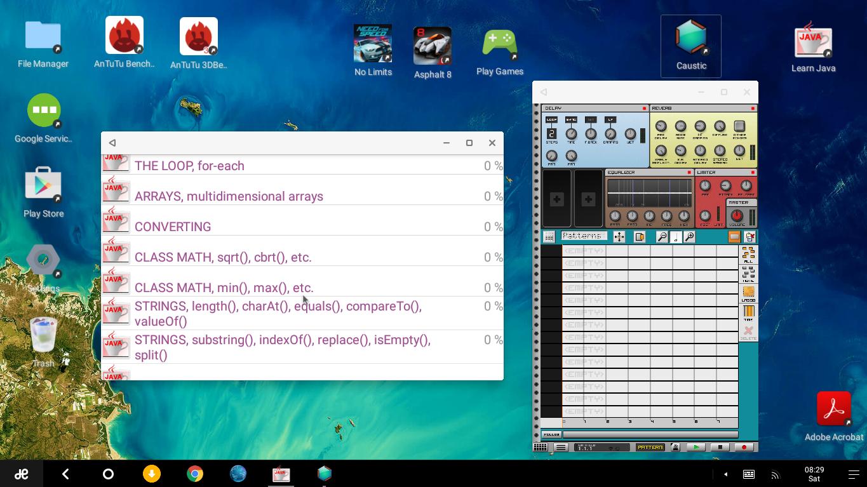 Обзор Remix OS на основе android для персональных компьютеров - 7