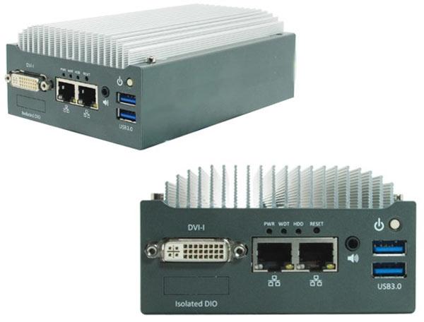Оснащение встраиваемого мини-ПК с пассивным охлаждением Acnodes FES8210 включает два порта Gigabit Ethernet