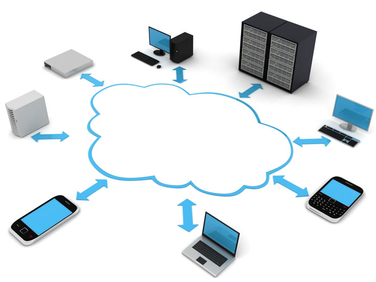 Доля облачной инфраструктуры в общей структуре расходов информационной отрасли постоянно растет