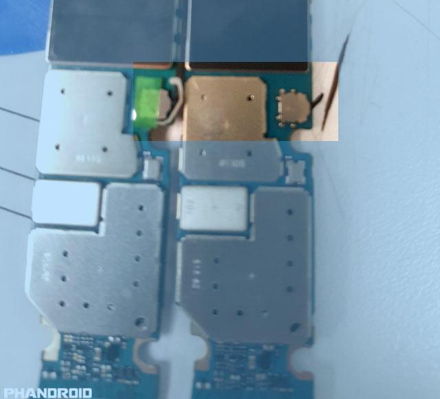 В конструкцию смартфона Samsung Galaxy Note5 внесено небольшое изменение