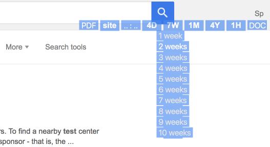 Расширенный поиск Яндекса (и Гугла) с помощью установленного скрипта или в интерфейсе - 3