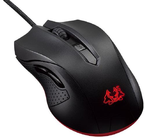 Оптическая мышь Cerberus Gaming Mouse одинаково подходит для левой и правой руки