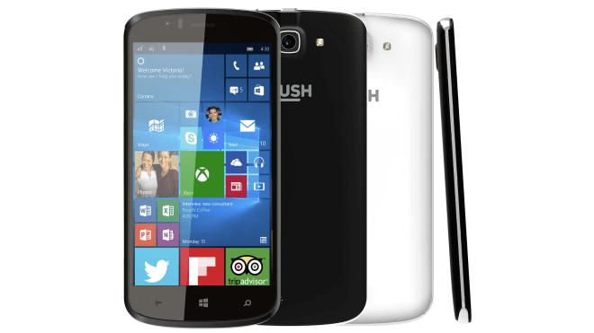 Bush Eluma — бюджетный смартфон на базе Windows 10 Mobile