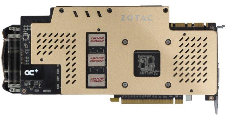 Видеокарта Zotac GeForce GTX 970 Extreme Edition OC работает на повышенных частотах