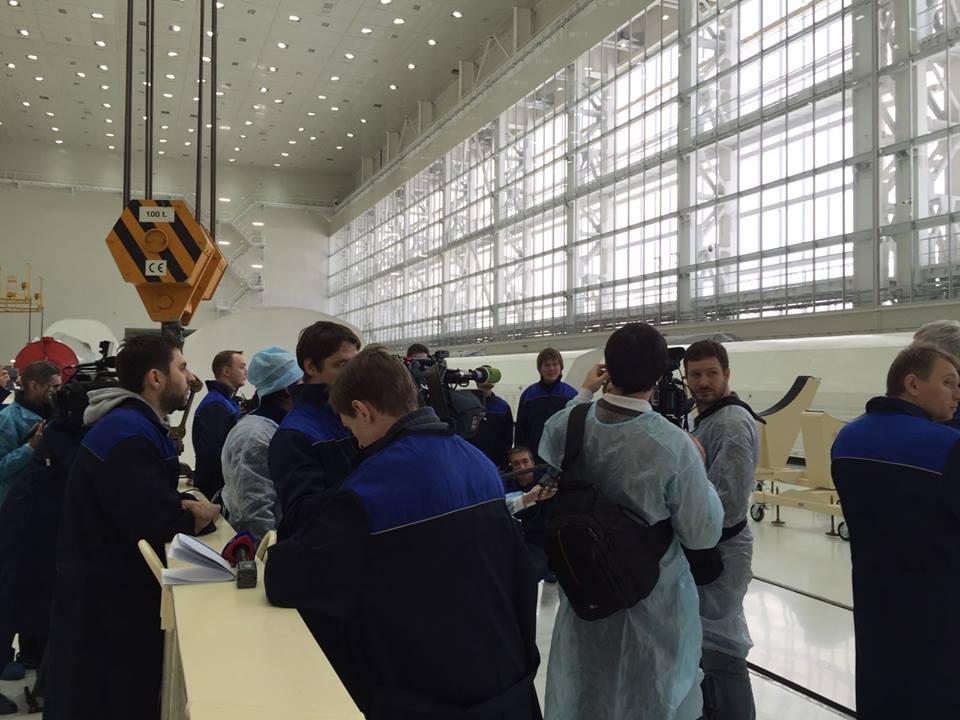 «Анбоксинг» ракеты «Союз-2.1а» на космодроме Восточный - 3