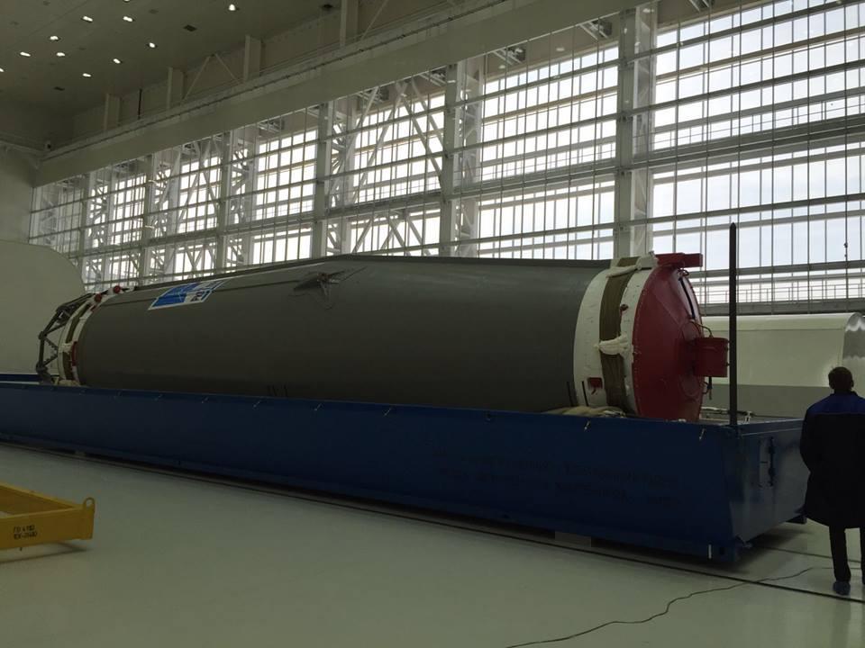 «Анбоксинг» ракеты «Союз-2.1а» на космодроме Восточный - 4