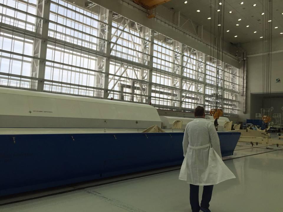 «Анбоксинг» ракеты «Союз-2.1а» на космодроме Восточный - 5