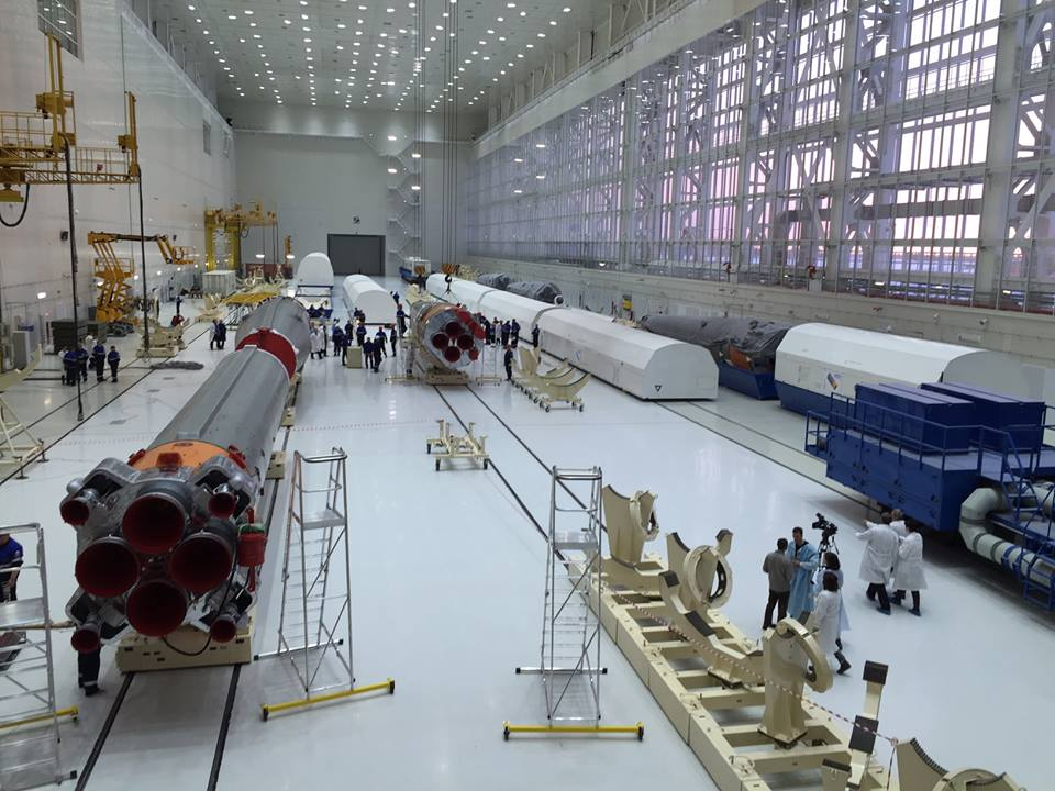«Анбоксинг» ракеты «Союз-2.1а» на космодроме Восточный - 6