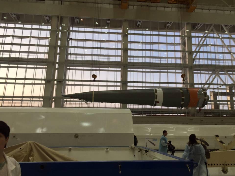 «Анбоксинг» ракеты «Союз-2.1а» на космодроме Восточный - 7