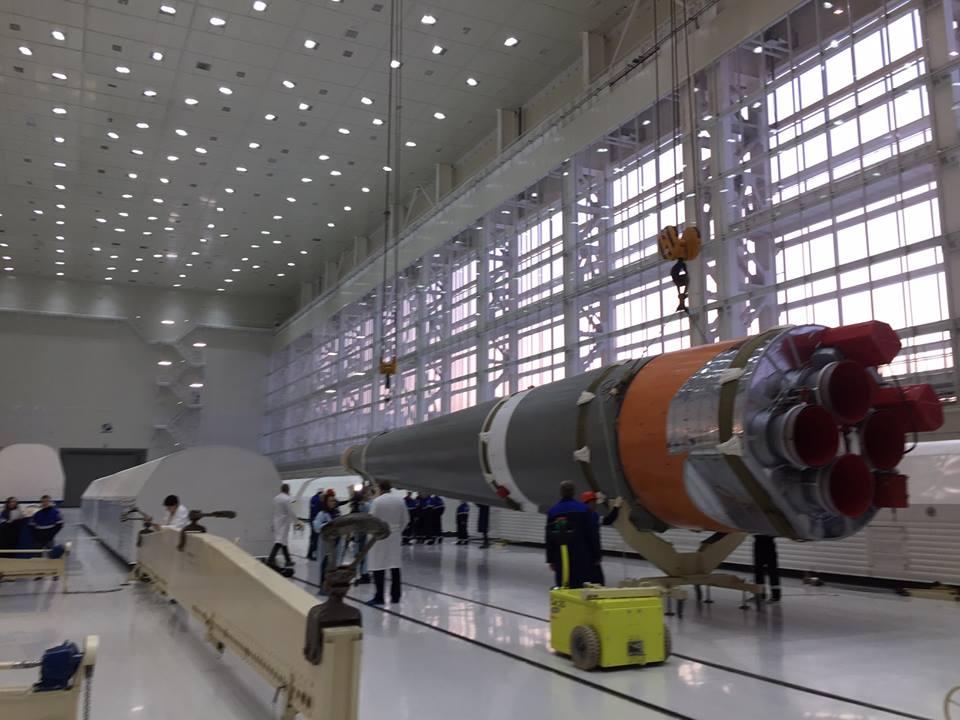 «Анбоксинг» ракеты «Союз-2.1а» на космодроме Восточный - 8
