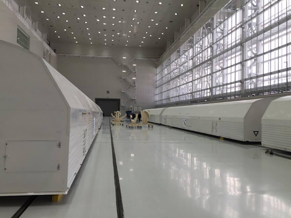 «Анбоксинг» ракеты «Союз-2.1а» на космодроме Восточный - 1
