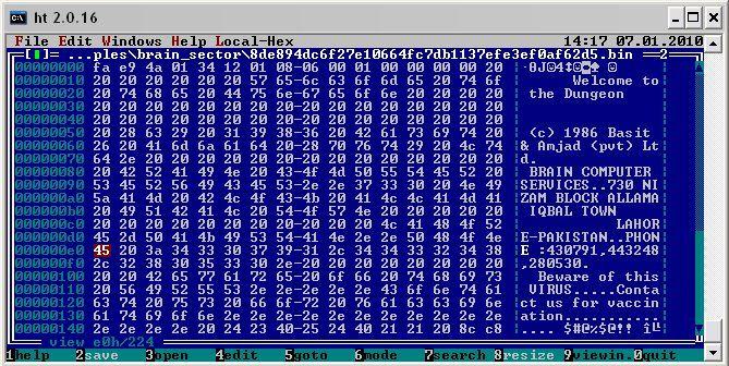 Первой эпидемии компьютерных вирусов для IBM PC исполнилось 30 лет - 2