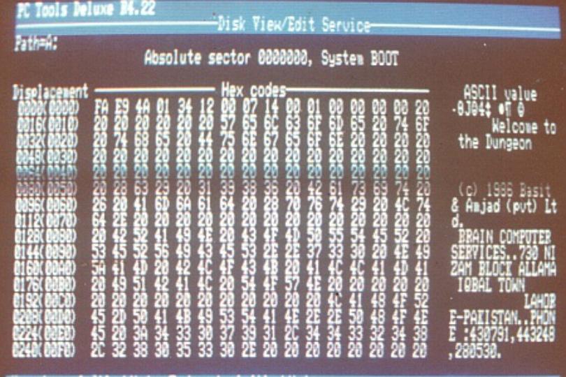 Первой эпидемии компьютерных вирусов для IBM PC исполнилось 30 лет - 1