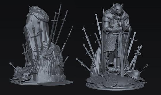 Победители конкурса по скульптингу персонажей по мотивам «Игры престолов» - 4