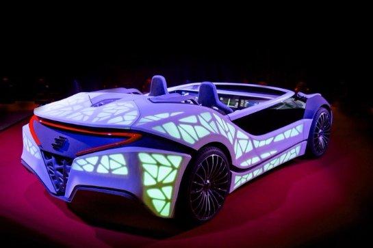 Bosch показала приборную панель «умного авто»