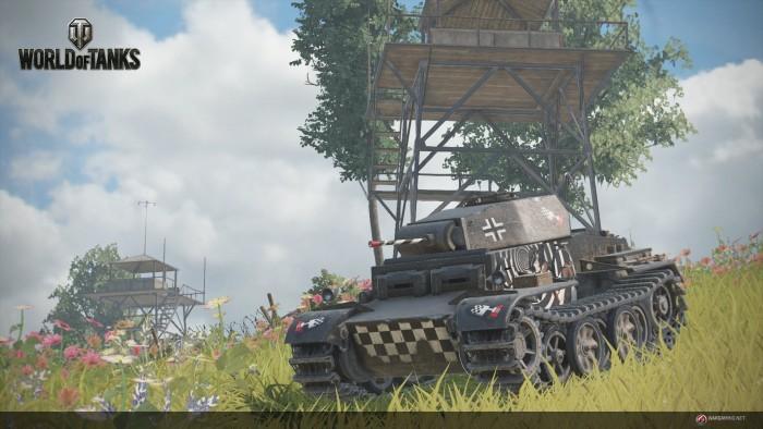 Игра World of Tanks вышла на платформе PlayStation 4 - 1