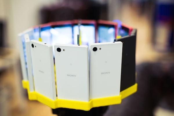 На Sony Xperia Z5 снято панорамное видео в разрешении 48K - 2