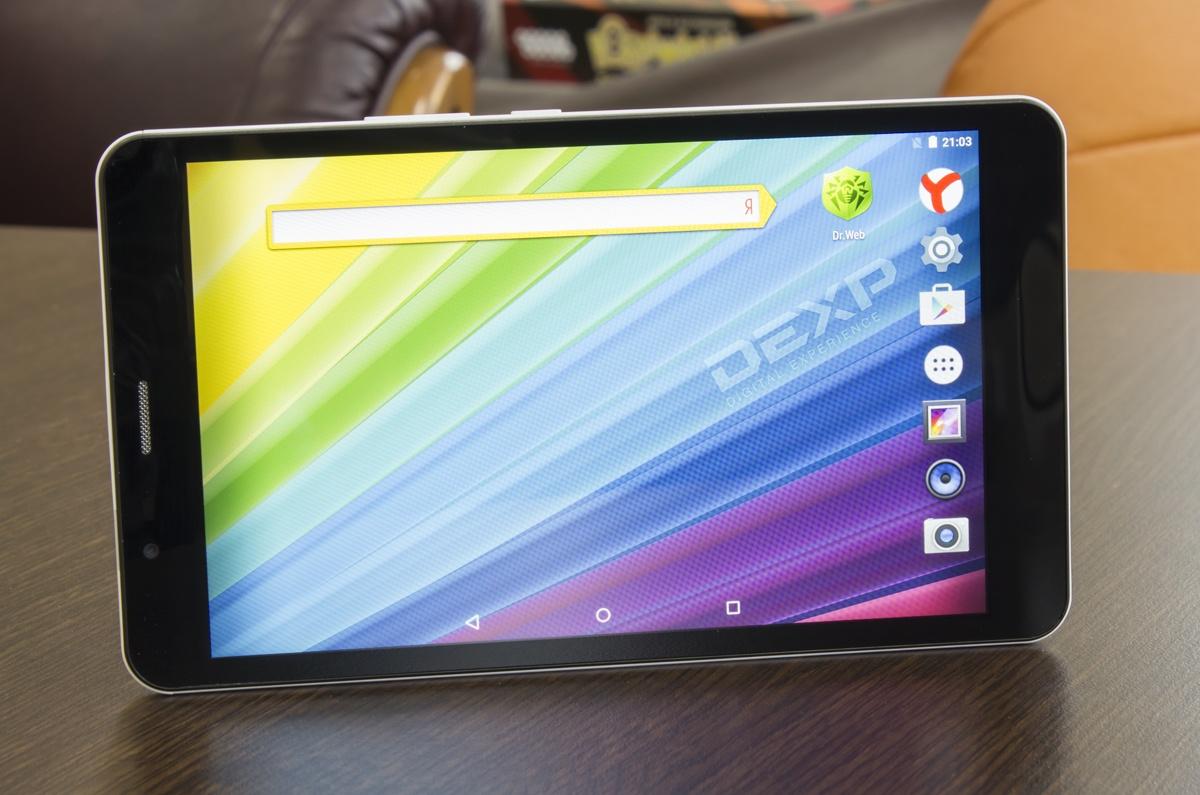 Обзор бюджетного 7-дюймового LTE-планшета DEXP Ursus TS270 Star - 12
